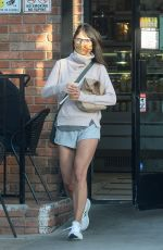 Jordana Brewster Heads out for some snacks in Los Angeles