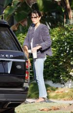 Jordana Brewster Out running errands in Los Angeles