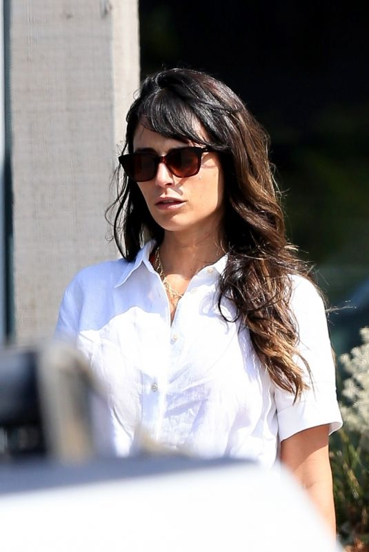 Jordana Brewster Packs on the PDA while out running errands with her boyfriend Mason Morfit in Malibu