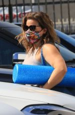 Justina Machado Arriving at the DWTS studio in Los Angeles