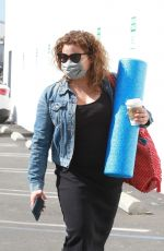 Justina Machado Heads into the DWTS studio in Los Angeles