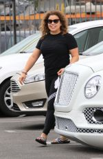 Justina Machado Looks slim as she heads to the DWTS dance studio in Los Angeles