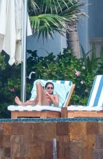 Kaia Gerber & Cindy Crawford Seen in Cabo San Lucas