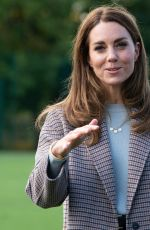 Kate Middleton Visits the University of Derby in England
