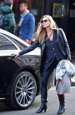 Kate Moss Looks sensational as she turns back the years when spotted leaving a hairdresser in Soho