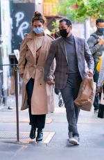 Katie Holmes and Emilio Vitolo Head Out For a Date Night in New York City