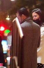 Katie Holmes Walking to late night dinner in New York