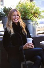 Kelly Bensimon Goes for A Coffee Run in NYC