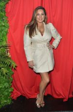 Kelly Brook Attends a cabaret Show at Proud Embankment in London