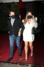 Kelly Brook Pictured arriving at the Global studios for her Heart radio show and leaving Proud Embankment in London