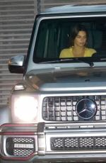 Kendall Jenner Departing after dinner with her friend Fai at Nobu in Malibu