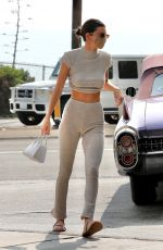 Kendall Jenner Makes a pit stop at a local gas station in Malibu