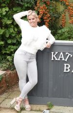 Kerry Katona Wears some items from her new clothing range Kerry Boutique as she also shows off her very own self-built bar in Sussex