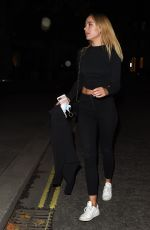 Kimberley Garner Leaving the Connaught hotel in London