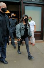 Kourtney Kardashian & Addison Rae Leave the Greenwich Hotel in New York