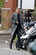 Lara Stone Spotted out in North London