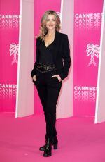 Laure Guibert At Canneseries in Cannes