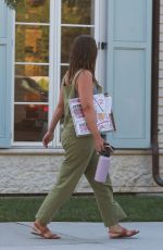 Leighton Meester Shopping in Santa Monica