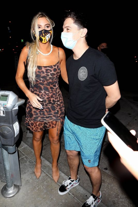 Lele Pons Shows off her new mystery man by putting on heavy PDA for the paparazzi in Los Angeles