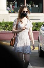 Lily Collins Out & about in Los Angeles