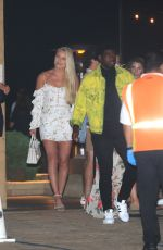 Lindsey Vonn Out for dinner in Malibu