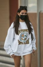 Madison Beer Leaving dinner at the Local Peasant in Sherman Oaks
