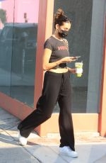 Madison Beer Out shopping on Melrose avenue in West Hollywood