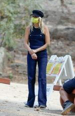 Malin Akerman Out in Griffith Park in Los Angeles