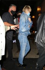 Miley Cyrus Arriving at the Bowery in New York