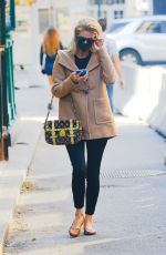 Nicky Hilton Seen carrying her Louis Vuitton handbag as taking a stroll in New York