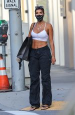 Nicole Murphy At the street during a solo retail therapy session on Rodeo Drive in Beverly Hills