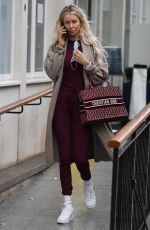 Olivia Attwood Out and about in London