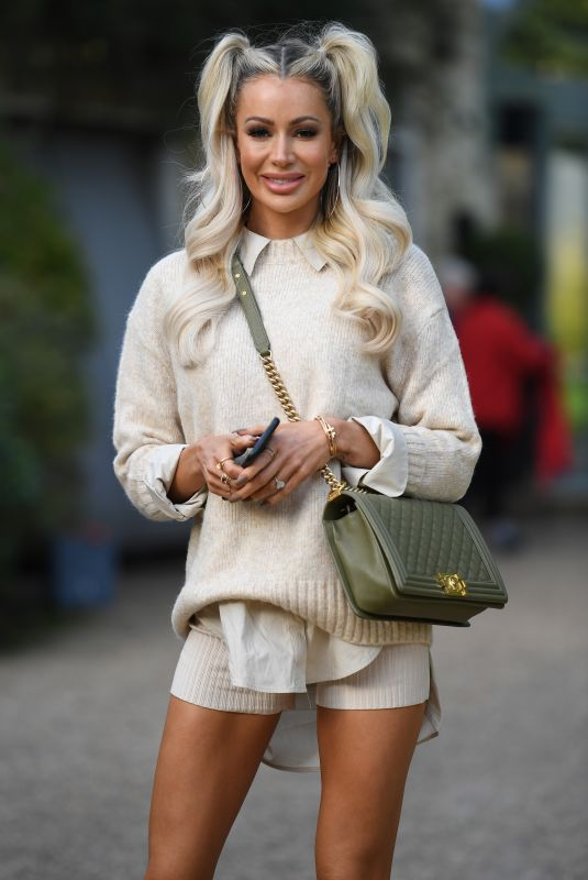 "Olivia Attwood Spotted filming ""The Only Way is Essex"" in Essex"
