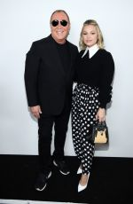 Olivia Holt Front Row at Michael Kors Collection Fall 2020
