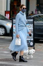 Olivia Palermo Seen in New York City