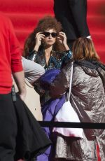 Penélope Cruz On the set of Official Competition in Madrid