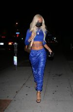 Pia Mia At Delilah in West Hollywood