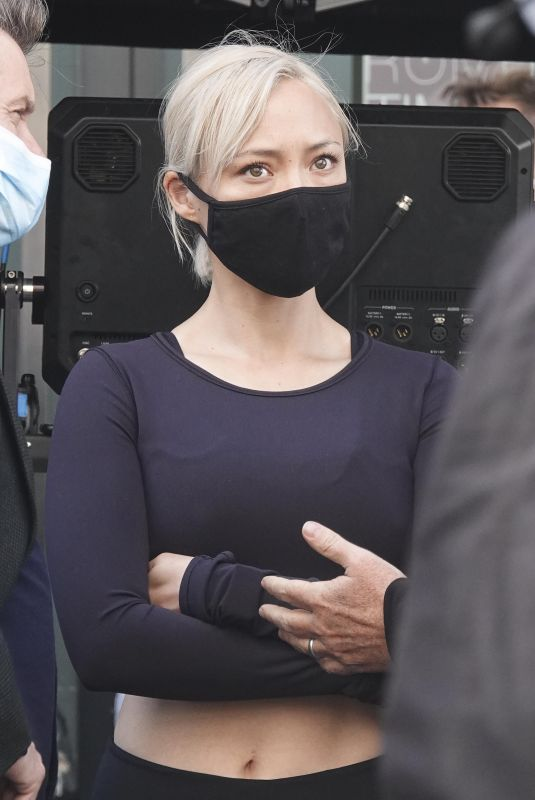 Pom Klementieff On set of Mission: Impossible 7 in Rome