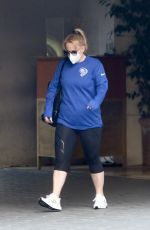 Rebel Wilson Leaving the Sunset Tower Hotel in West Hollywood