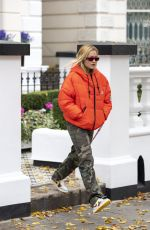 Rita Ora Leaving her home in London