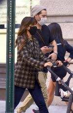 Rocky Barnes Spotted on a photoshoot in New York City