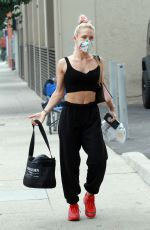 Sharna Burgess Heads into the DWTS studios in Los Angeles
