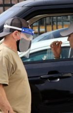 Sharna Burgess Seen getting covid testing at the parking lot of DWTS studio in Los Angeles