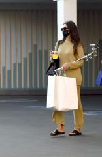 Shay Mitchell Leaves a studio in LA