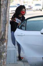 Skai Jackson Heads into the DWTS studio in Los Angeles