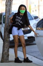 Skai Jackson Seen leaving the DWTS studio in Los Angeles