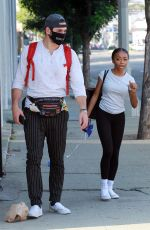Skai Jackson Spotted leaving the DWTS studio as she finishes her dance practice in Los Angeles