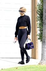 Sofia Richie At Earth Bar in West Hollywood