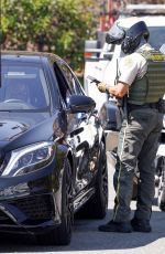 Sofia Richie Gets pulled over in Los Angeles