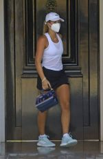 Sofia Richie Heading out for tennis in Malibu
